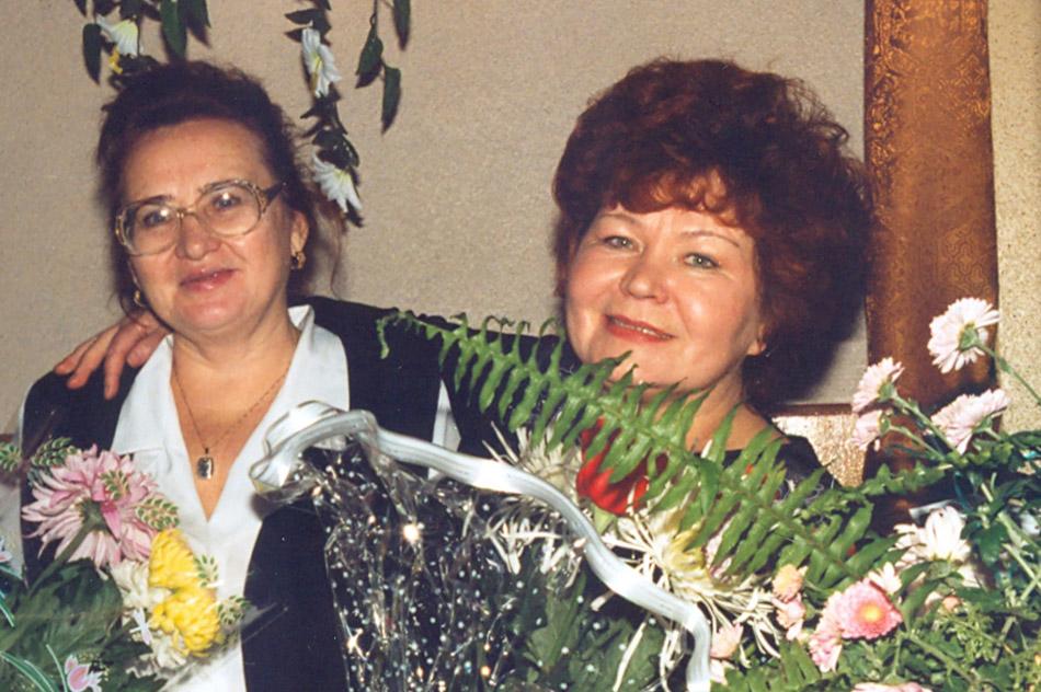 Марина Ивановна Малявкина и Галина Петровна Попова