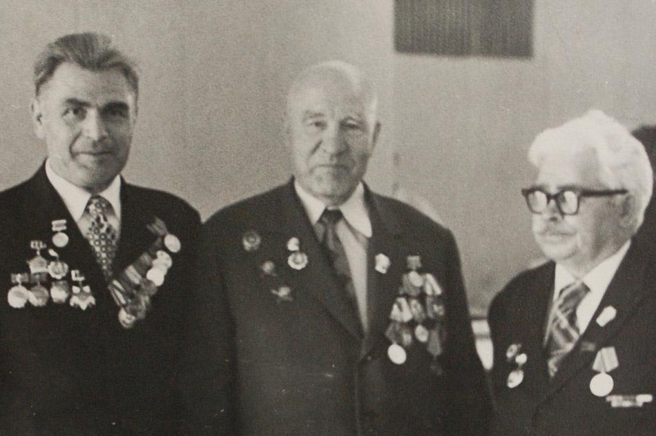 Роман Васильевич Майстришин, Дмитрий Семёнович Захаров и Яков Петрович Иночкин