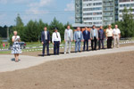 Торжественная церемония открытия самолёта «МиГ-29» в городе Обнинске (29 июля 2016 года)