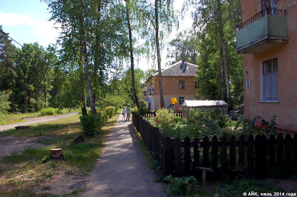 Посёлок Мирный в городе Обнинске