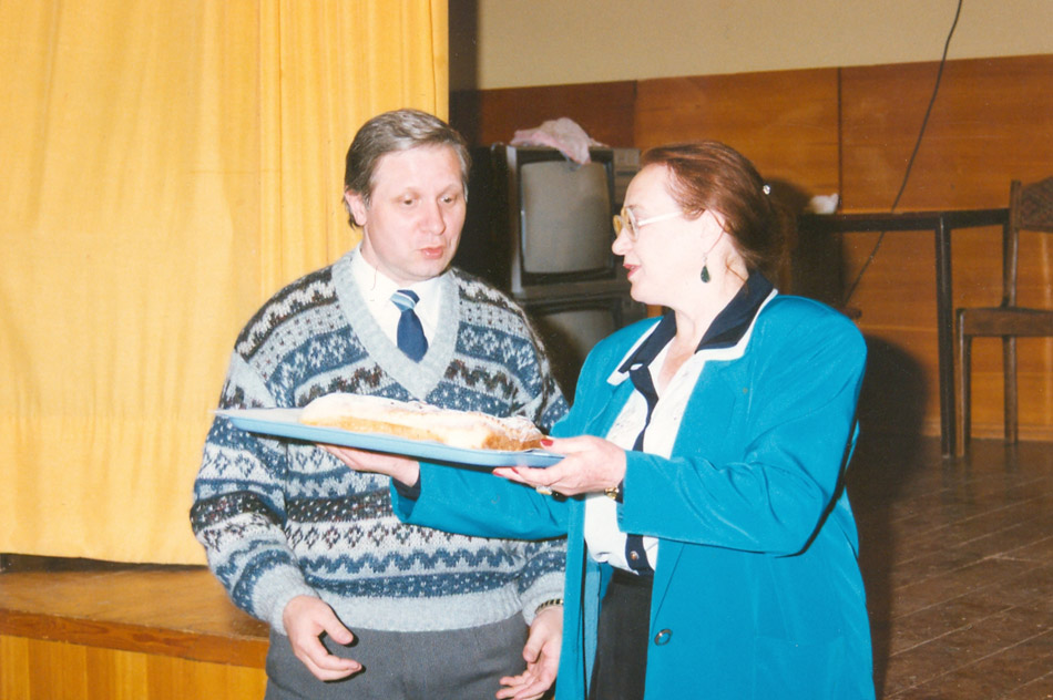 Олег Витальевич Мунтян и Марина Ивановна Малявкина