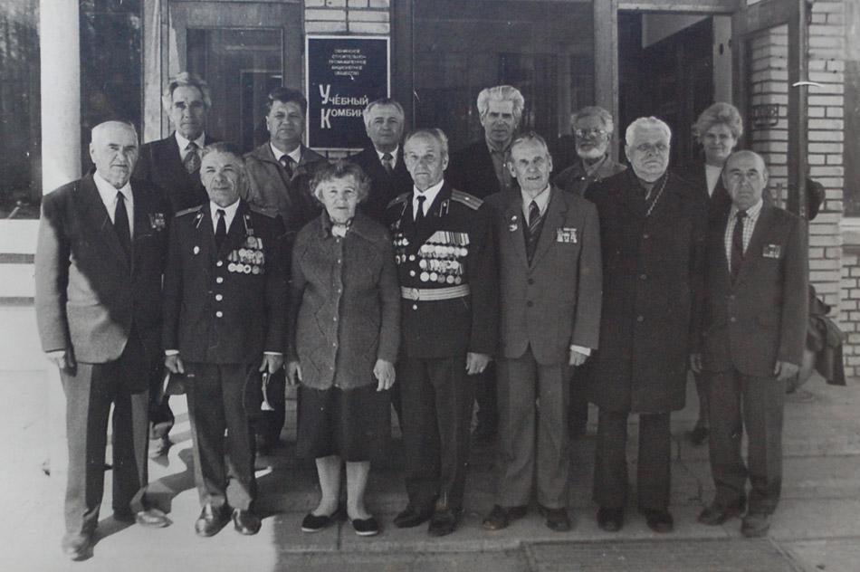 Ветераны в музее ОУС в городе Обнинске