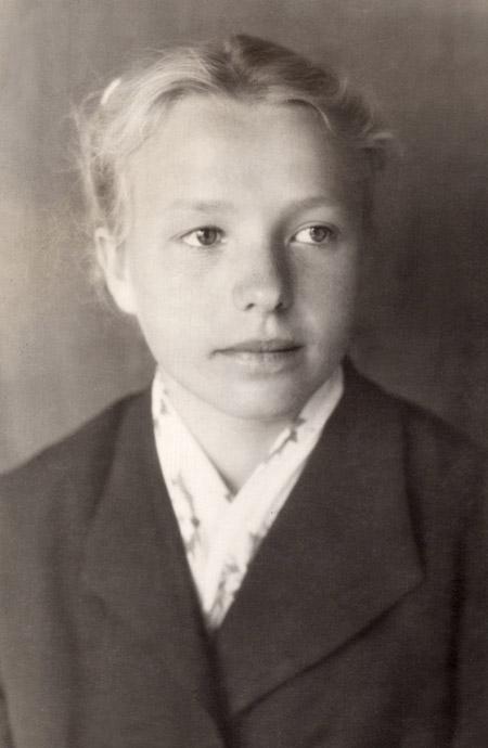 Надежда Михайловна Кушпита: школьные годы