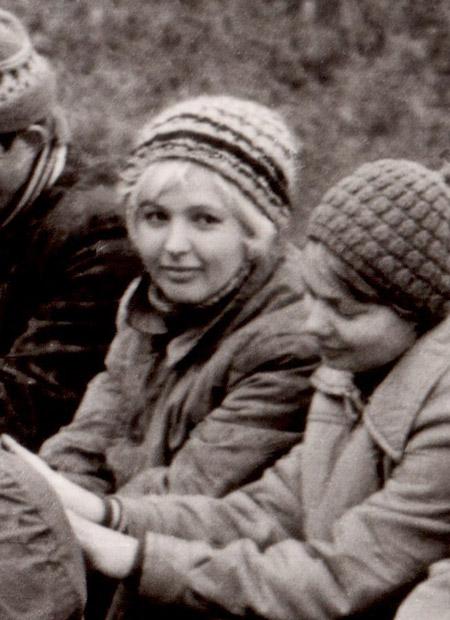 Надежда Михайловна Кушпита в молодости