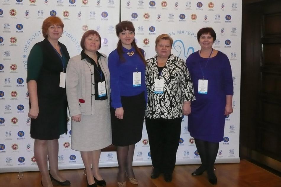 Надежда Георгиевна Рожкова в Казани