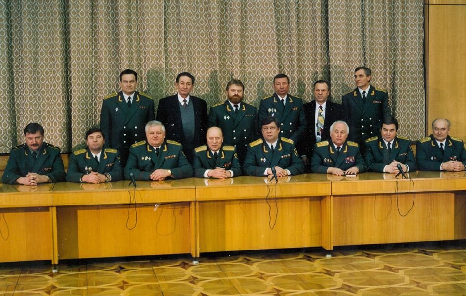 Коллегия Федеральной Службы налоговой полиции России (1996 год)