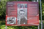 Информационный стенд в честь Александра Фёдоровича Наумова в городе Обнинске