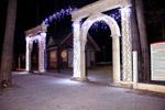 Новогоднее убранство улиц и зданий в городе Обнинске