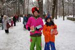 Новогодняя ярмарка (4 января 2012 года) в городе Обнинске