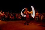 Огненное шоу на мероприятии «Ночь в музее 2012» в городе Обнинске