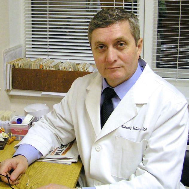 Николай Петрович Елисеев