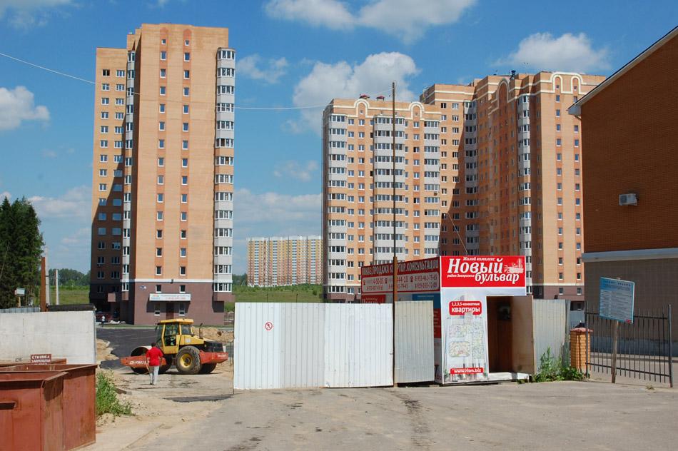 Жилой комплекс «Новый бульвар» в городе Обнинске