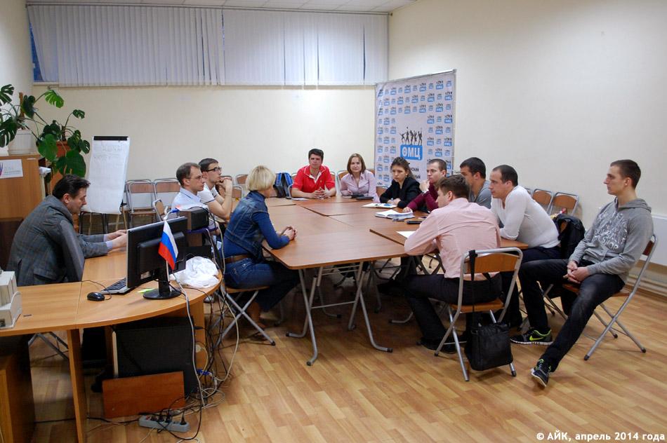 Активисты проекта «Обнинский бизнес-клуб» с Анатолием Шатухиным и Татьяной Баталовой