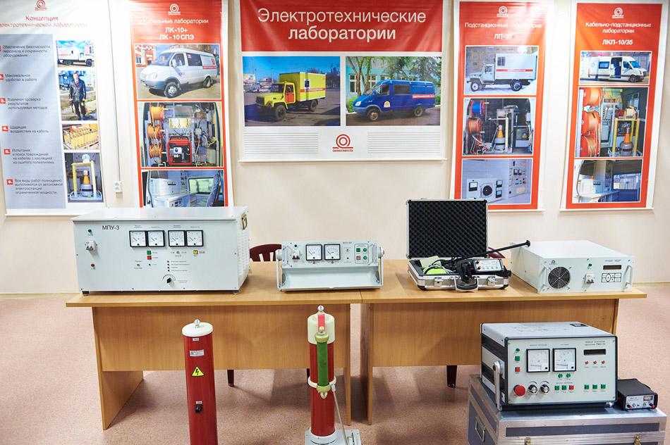 Образцы продукции, выпускаемой компанией «ОбнинскЭнергоТех» в городе Обнинске