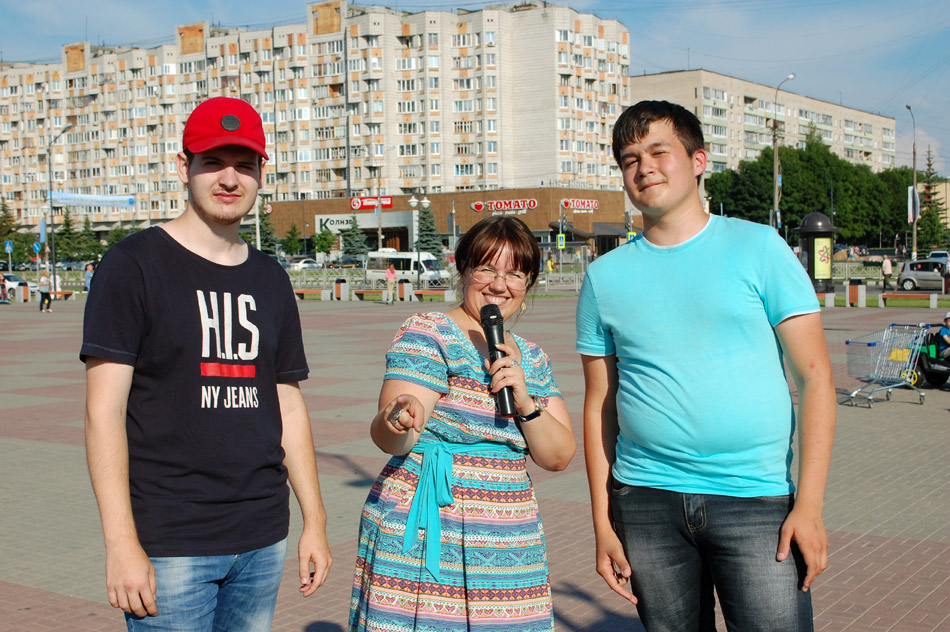 Иван Александрович Золотарёв, Валентина Андреевна Царёва и Вячеслав Сергеевич Ситников