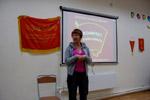 Выставка истории комсомола в ОМЦ в городе Обнинске (2012 год)