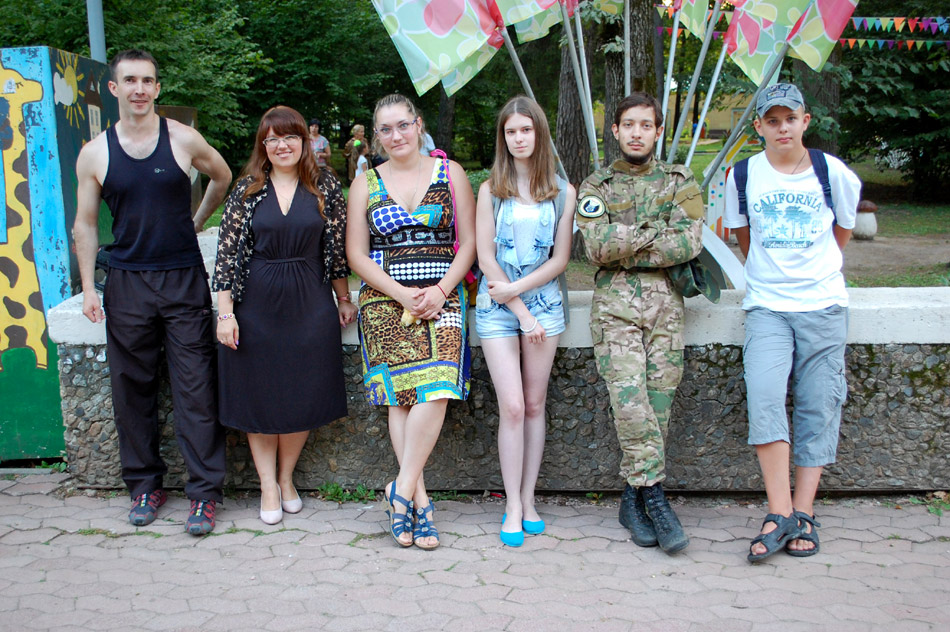 Юрий Алексеевич Остапенко на первой встрече обладателей обнинского гражданства (13 августа 2017 года)