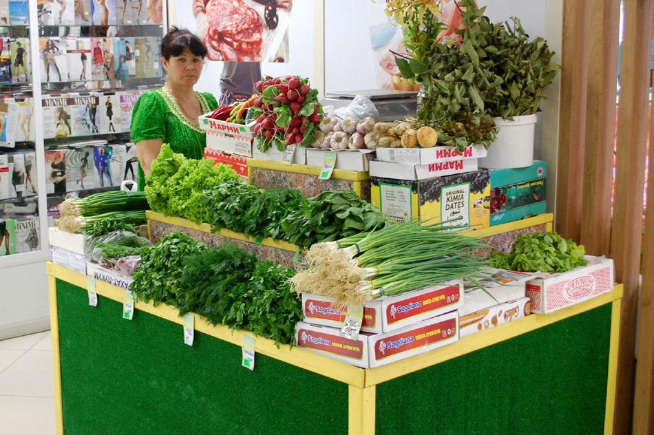 Магазин «Овощи» в городе Обнинске