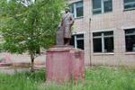 Памятник Ленину на территории Дома Офицеров в городе Обнинске