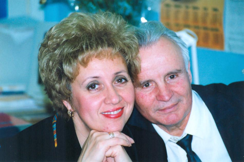 Алина Николаевна Петик и Яков Андреевич Александров