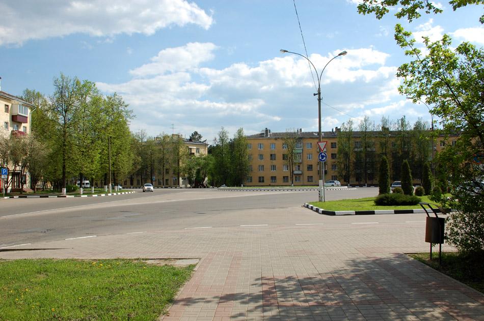 Площадь Преображения в городе Обнинске