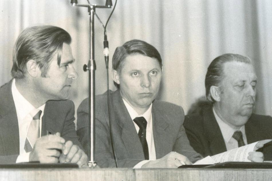 Павел Михайлович Попов, Борис Дмитриевич Юрлов и Владимир Николаевич Силаев