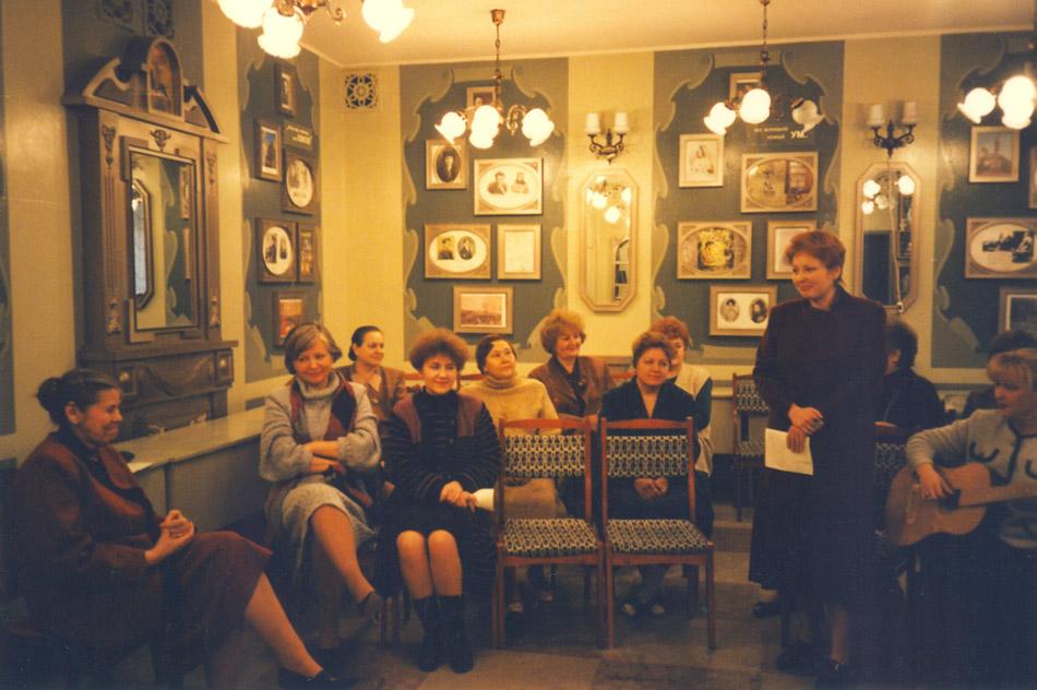 «Пушкинская комната» школы №5 в городе Обнинске