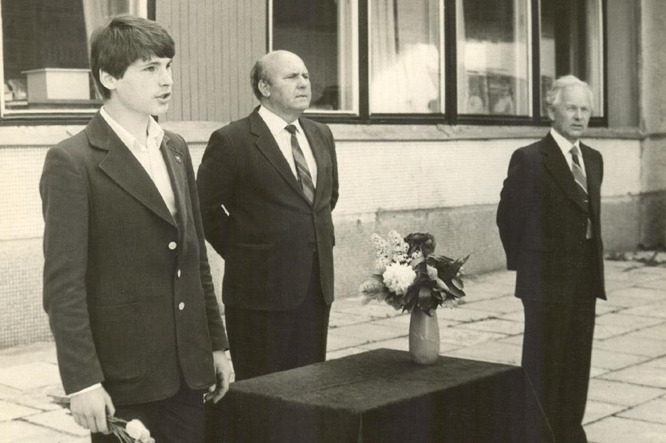 Олег Пузанков, Алексей Калинович Никоненко и Валентин Максимович Мельников