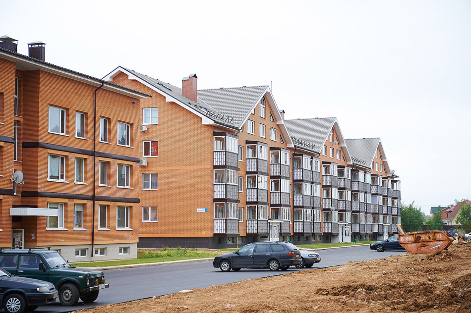 Объём жилищного строительства в Обнинске увеличивается