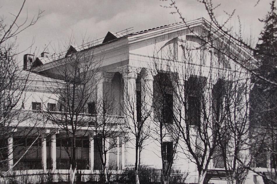 Ресторан «Обнинск» в советское время в городе Обнинске