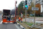 Пешеходные ограждения в городе Обнинске