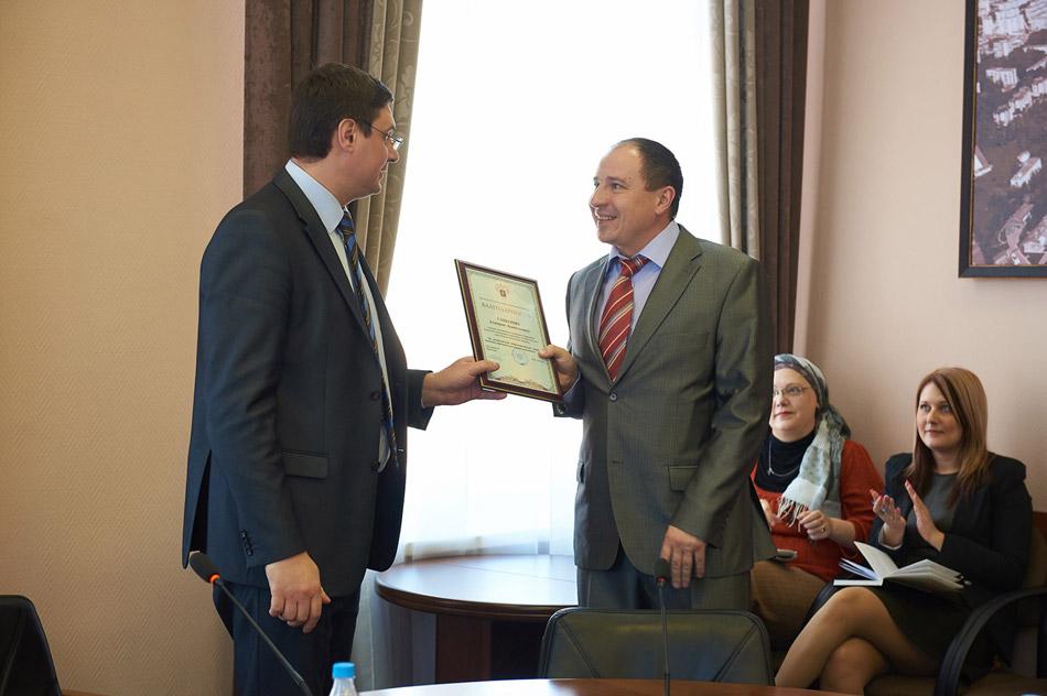 Дмитрий Самбуров получил благодарственное письмо Министерства сельского хозяйства РФ