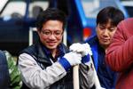 Корейцы помогли посадить деревья и убрать мусор в лесополосе