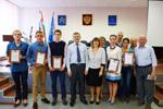 Награждение талантливых школьников в городе Обнинске