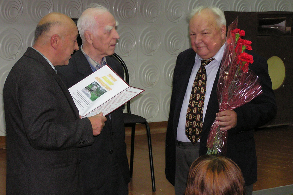 Владимир Борисович Серебренников, Николай Сергеевич Студёнов и Владимир Александрович Тарасов