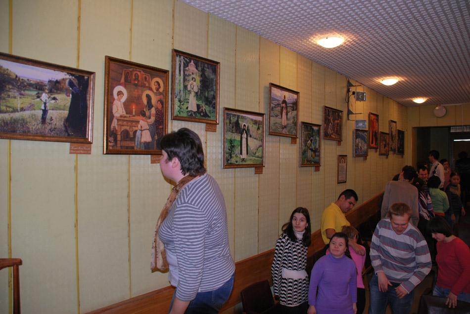 Выставка к 700-летию Сергия Радонежского