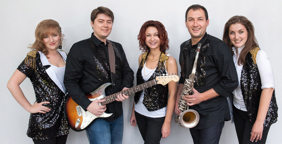 Музыкальная группа «Шейк» в городе Обнинске