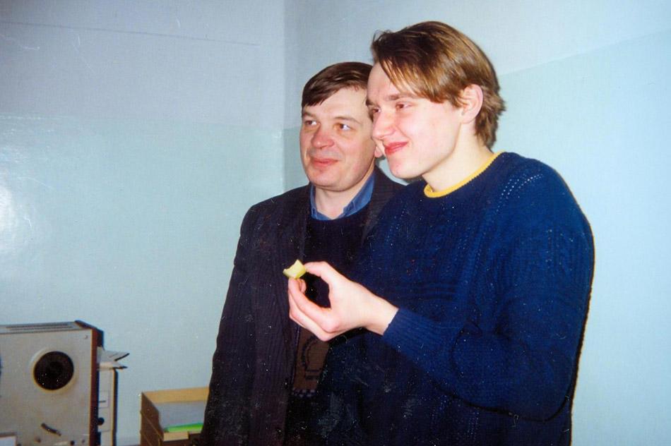 Вячеслав Михайлович Шапошников и Павел Анатольевич Игнатов