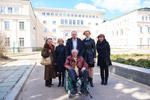 Визит Мануэля Арсе Пореса в город Обнинск (10 апреля 2015 года)