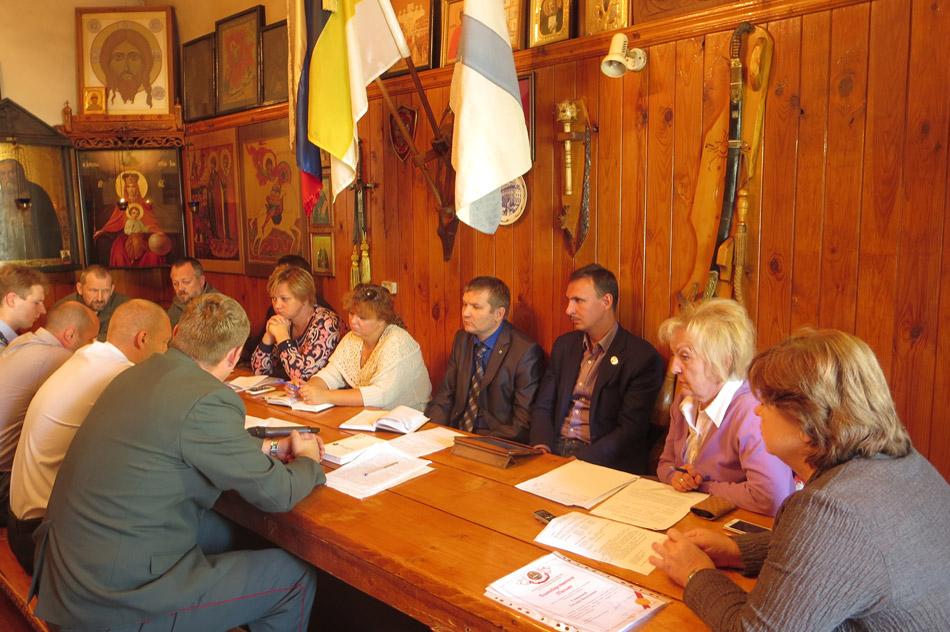 В общинном центре педагогики «Спас» состоялось выездное заседание антинаркотической комиссии города Обнинска