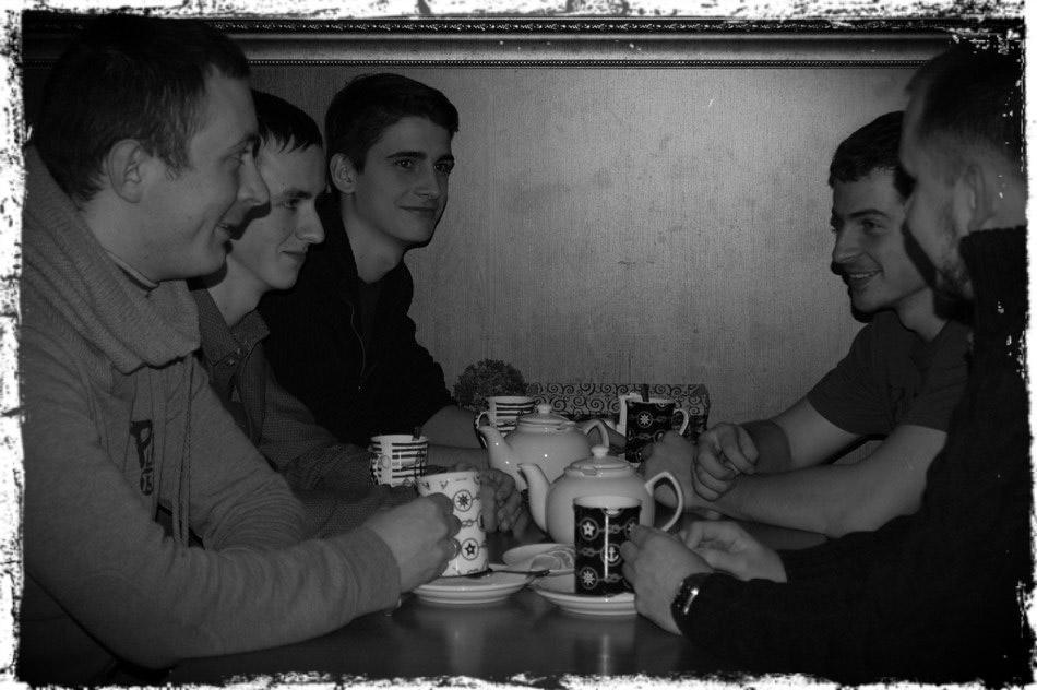 Фотография с первой встречи клуба читателей журнала «Спутник и Погром» в городе Обнинске