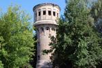 Старая водонапорная башня в городе Обнинске