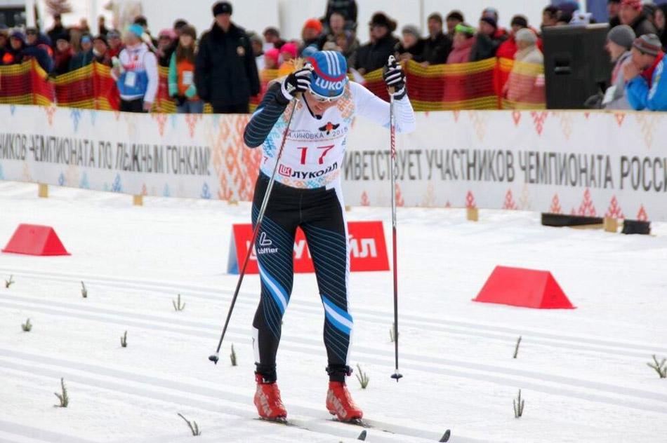 Обнинская спортсменка Дарья Сторожилова — чемпионка России по лыжным гонкам