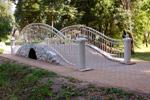 Свадебный мост в парке усадьбы «Белкино»
