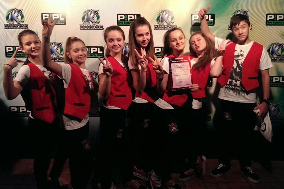 Танцевальная команда «THE MONKEYS» в городе Обнинске