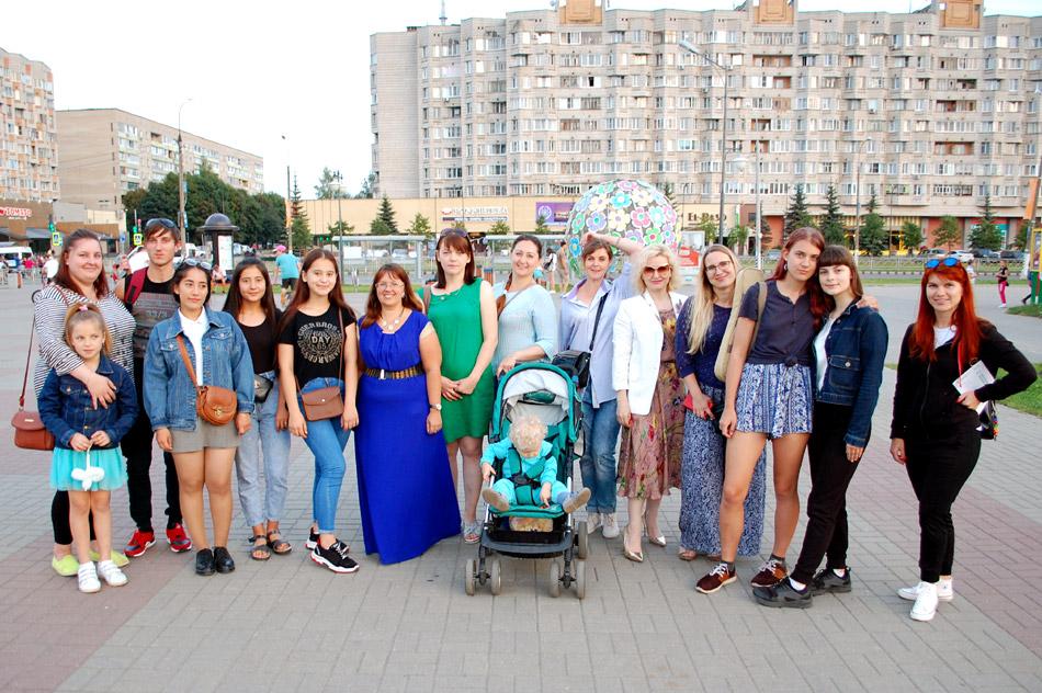 8-й дождь программы прозрачности в городе Обнинске