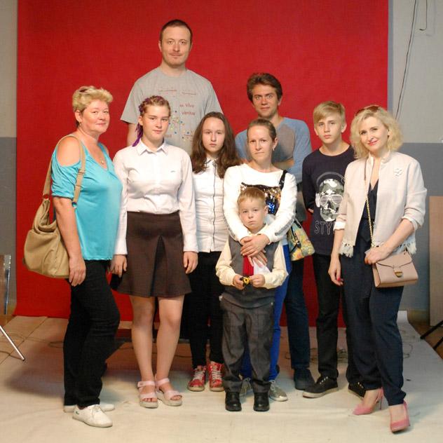 9-й дождь программы прозрачности в городе Обнинске: коллективная фотография с участием Артёма Игоревича Майнаса