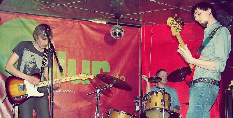 Музыкальная группа «Туннели» в городе Обнинске