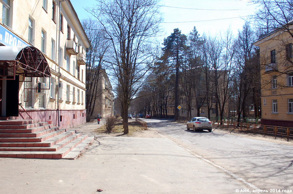 Улица Блохинцева в городе Обнинске