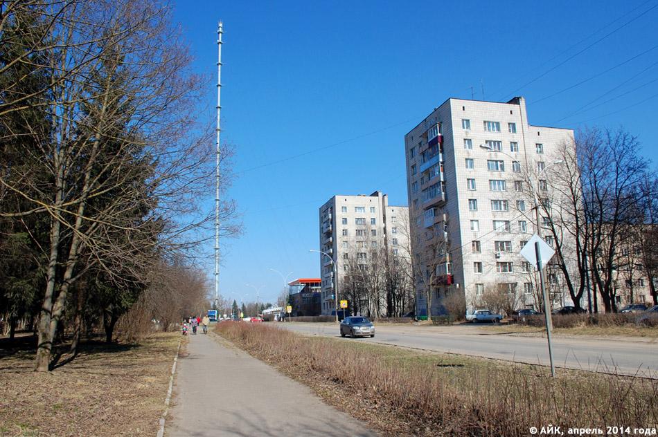 Улица Комарова в городе Обнинске